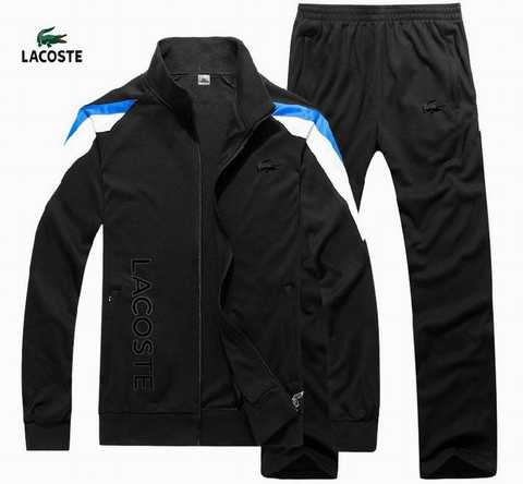 jogging lacoste homme blanc pas cher faa8a5f271b